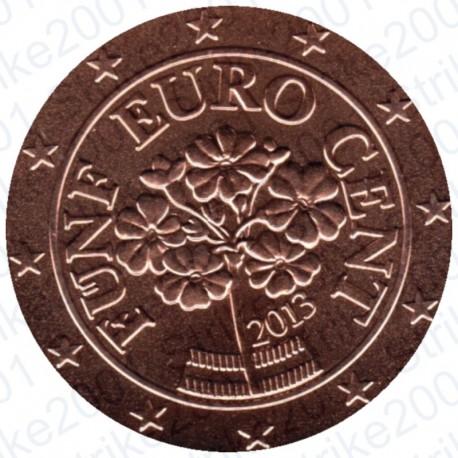 Austria 2013 - 5 Cent. FDC
