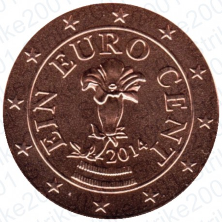 Austria 2014 - 1 Cent. FDC