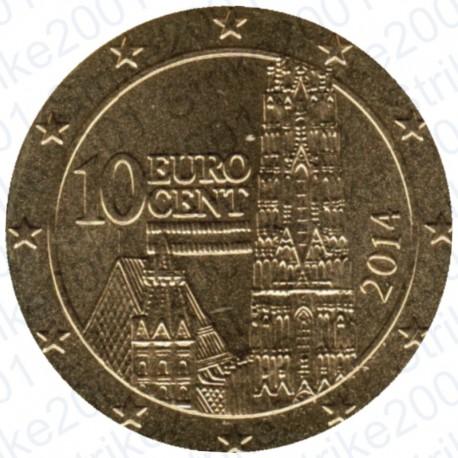 Austria 2014 - 10 Cent. FDC