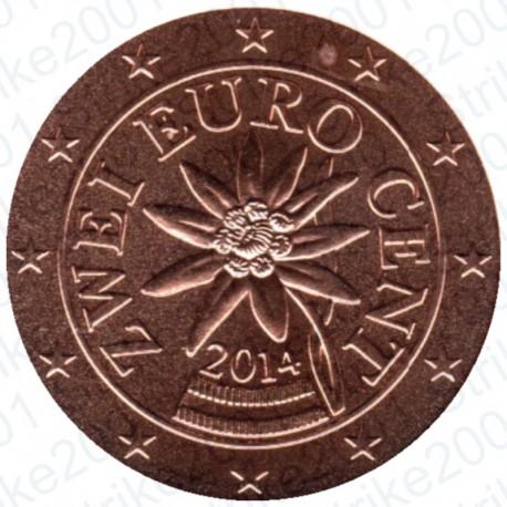 Austria 2014 - 2 Cent. FDC