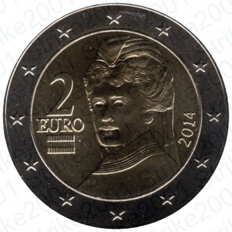 Austria 2014 - 2€ FDC