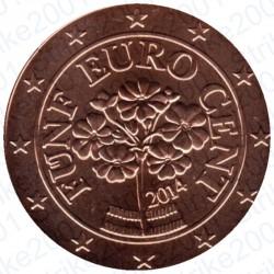 Austria 2014 - 5 Cent. FDC
