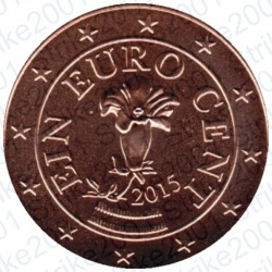 Austria 2015 - 1 Cent. FDC