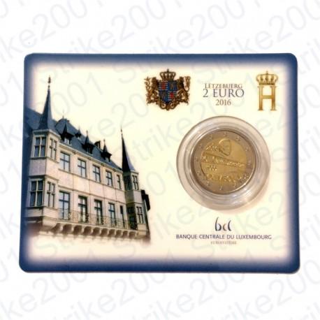 Lussemburgo - 2€ Comm. 2016 in folder FDC Ponte Carlotta