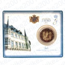 Lussemburgo - 2€ Comm. 2012 FDC Matrimonio in Folder