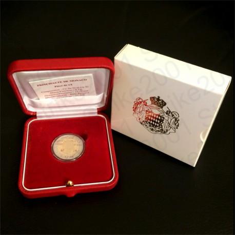Monaco - 2€ Comm. 2010 FS Principe Alberto