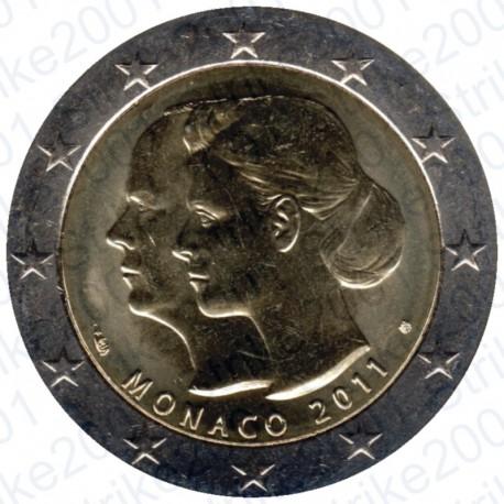 Monaco - 2€ Comm. 2011 FDC Matrimonio