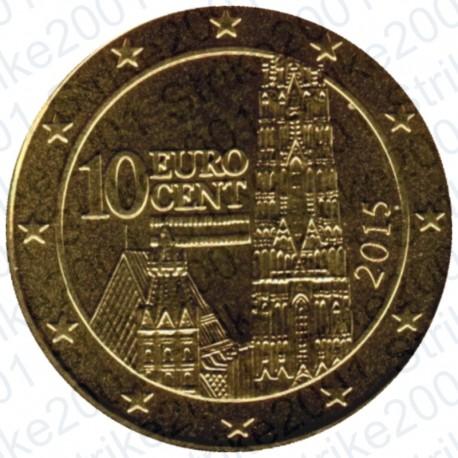 Austria 2015 - 10 Cent. FDC