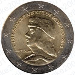 Monaco - 2€ Comm. 2012 FDC Fondazione Sovranità