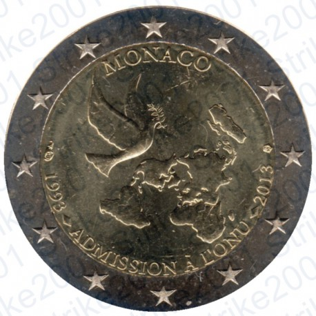 Monaco - 2€ Comm. 2013 FDC ONU