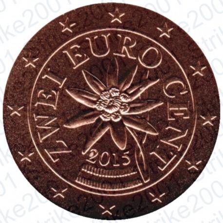 Austria 2015 - 2 Cent. FDC