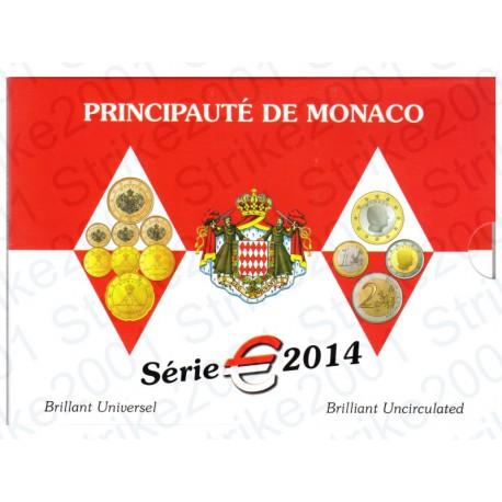 Monaco - Divisionale Ufficiale 2014 FDC