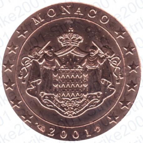 Monaco 2001 - 5 Cent. FDC