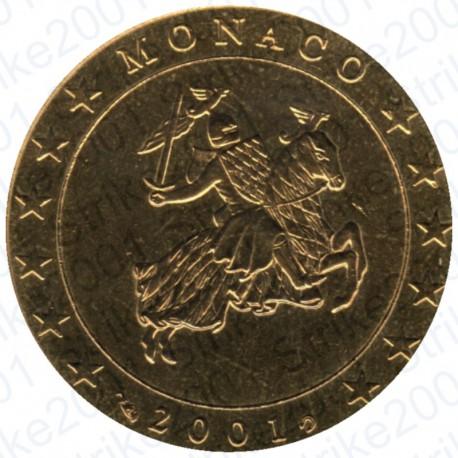 Monaco 2001 - 50 Cent. FDC