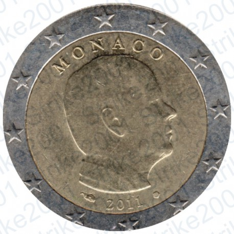 Monaco 2011 - 2€ FDC