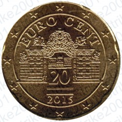 Austria 2015 - 20 Cent. FDC