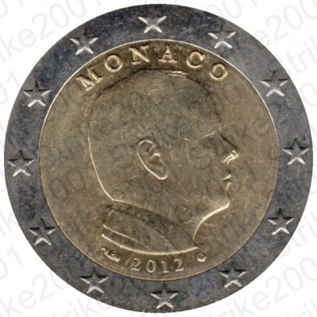 Monaco 2012 - 2€ FDC