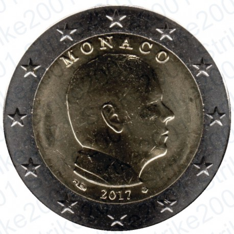 Monaco 2017 - 2€ FDC