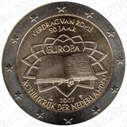 Olanda - 2€ Comm. 2007 FDC Trattato Roma