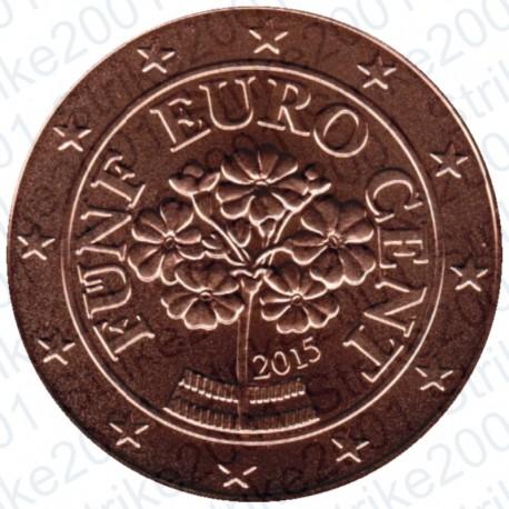 Austria 2015 - 5 Cent. FDC