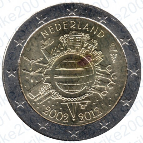 Olanda - 2€ Comm. 2012 FDC Anniversario