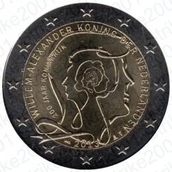 Olanda - 2€ Comm. 2013 FDC Guglielmo