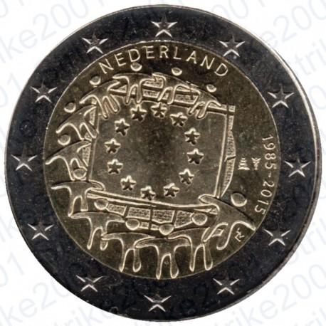 Olanda - 2€ Comm. 2015 FDC Bandiera