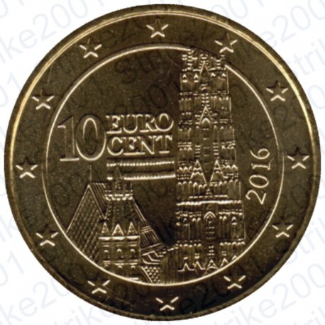 Austria 2016 - 10 Cent. FDC