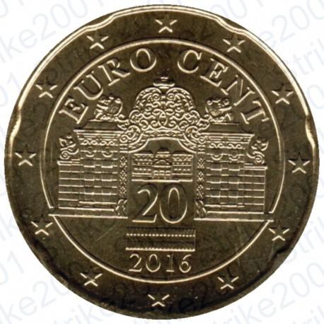 Austria 2016 - 20 Cent. FDC