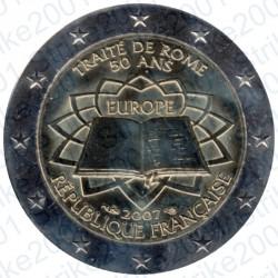 Francia - 2€ Comm. 2007 FDC Trattato Roma