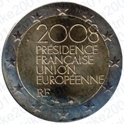 Francia - 2€ Comm. 2008 FDC Presidenza Europea