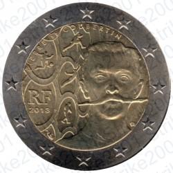 Francia - 2€ Comm. 2013 FDC Pierre De Coubertin
