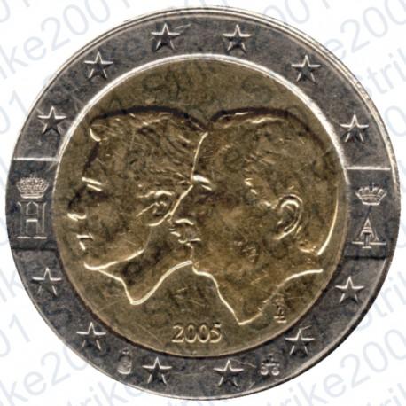 Belgio - 2€ comm. 2005 FDC