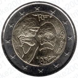 Francia - 2€ Comm. 2017 FDC Auguste Rodin