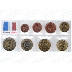 Francia - Blister 2011 FDC