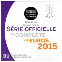 Francia - Divisionale Ufficiale 2015 FDC