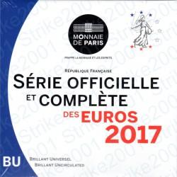 Francia - Divisionale Ufficiale 2017 FDC