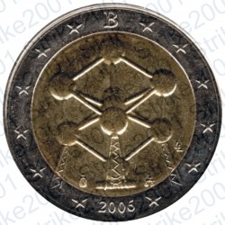 Belgio - 2€ Comm. 2006 FDC Atomo