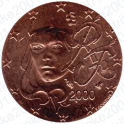 Francia 2000 - 2 Cent. FDC