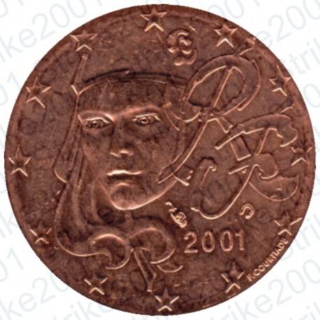 Francia 2001 - 2 Cent. FDC