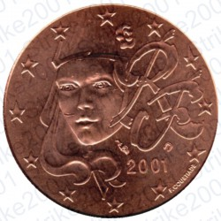 Francia 2001 - 5 Cent. FDC