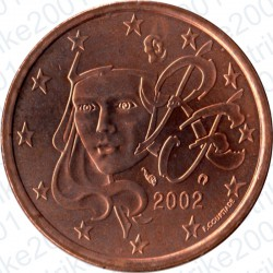 Francia 2002 - 5 Cent. FDC