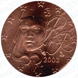 Francia 2003 - 1 Cent. FDC