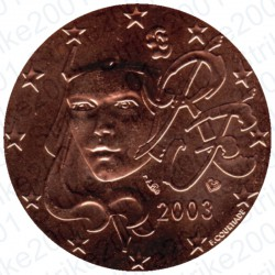 Francia 2003 - 5 Cent. FDC