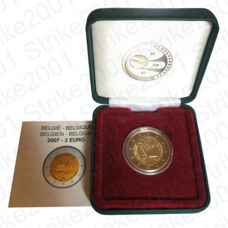 Belgio - 2€ Comm. 2007 Trattato Roma FS