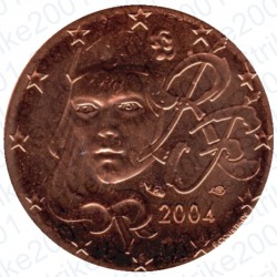Francia 2004 - 2 Cent. FDC