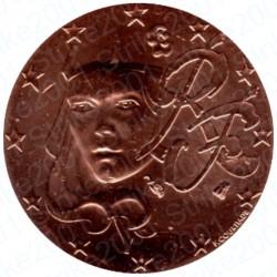 Francia 2007 - 2 Cent. FDC