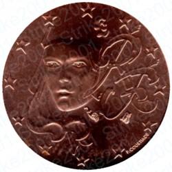 Francia 2008 - 1 Cent. FDC