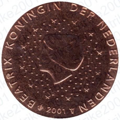Olanda 2001 - 2 Cent. FDC
