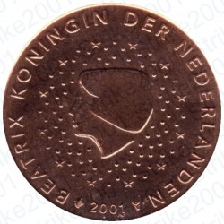 Olanda 2001 - 5 Cent. FDC